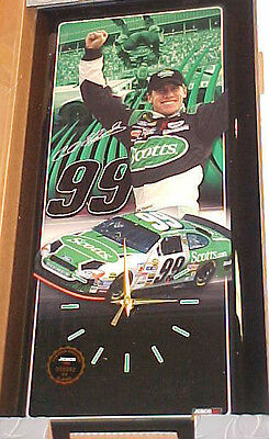 """Racing-nascar Unused Carl Edwards Scotts 2005 """"first Win"""" Jebco Clock #60 Of 5000 100% Quality New"""