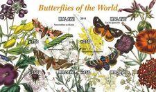 ** Butterflies - s/s  Malawi 2011  mint MNH IMPERF  #C092