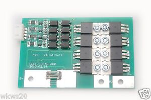 4-cells-40A-60A-peak-w-balancing-Li-ion-Lithium-18650-Battery-In-Out-Protection