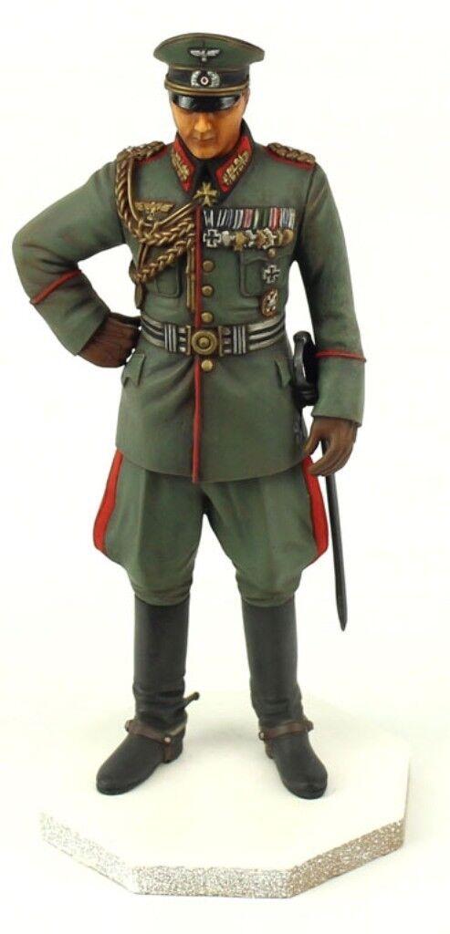 Verkanden gebaut 1 16 Deutsche Artillerie General Officer Original Show