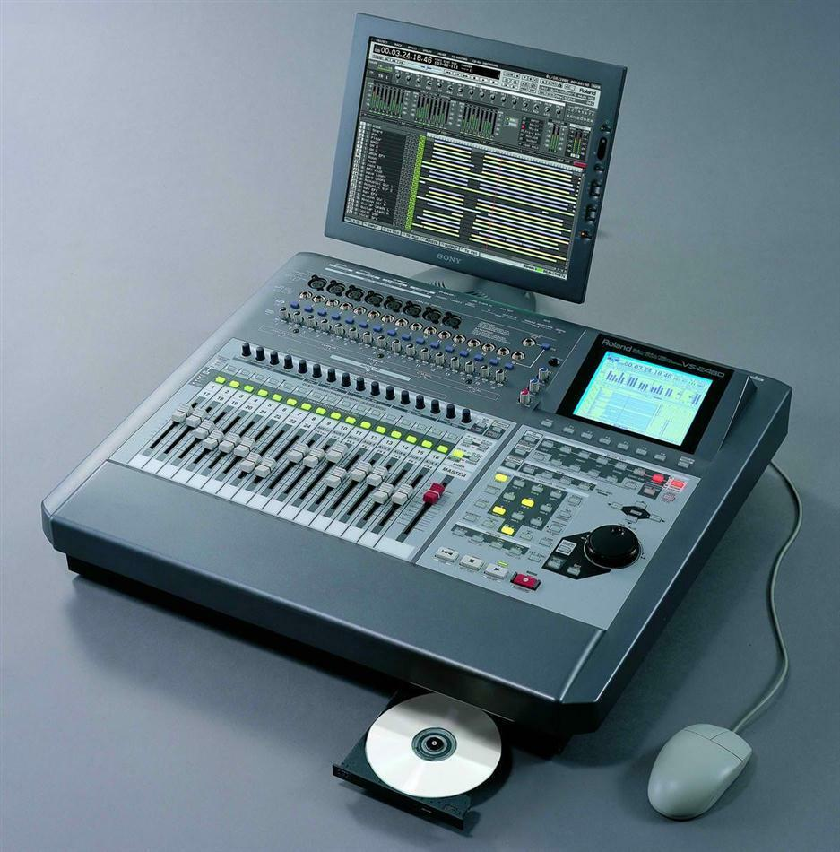 ROLAND VS-2480 CD CD CD 24 MULTI TRACK DIGITAL WORKSTATION RECORDING STUDIO 2000 2400 0e2c02