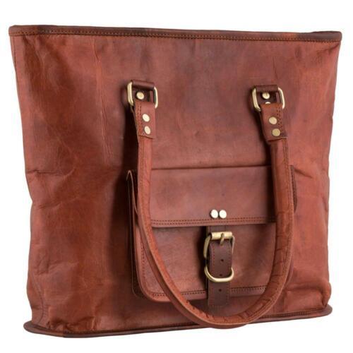 Women Shoulder Leather Messenger Shopping Body Bag Handmade purse Hobo Tote Bag