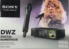 Sony - DWZM50 - Series Digital Wireless Vocal Set - Black