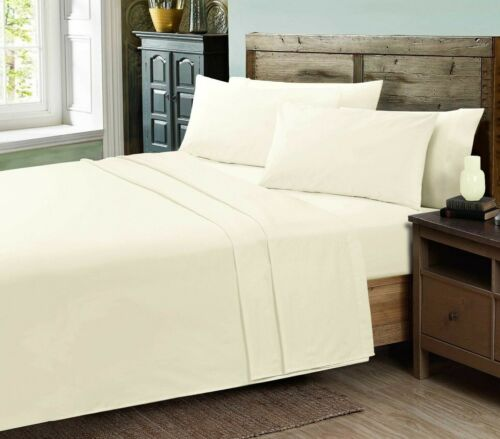 Amour Calin Luxury Bedding 400TC Egyptian Cotton Flat Sheets