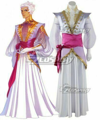 The Arcana Asra Purple Cosplay Costume