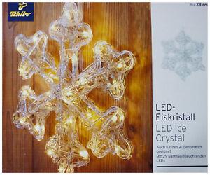3577d917c3 Das Bild wird geladen TCM-Tchibo-XXL-Led-Eiskristall-Fensterdeko-Licht- Beleuchtung-