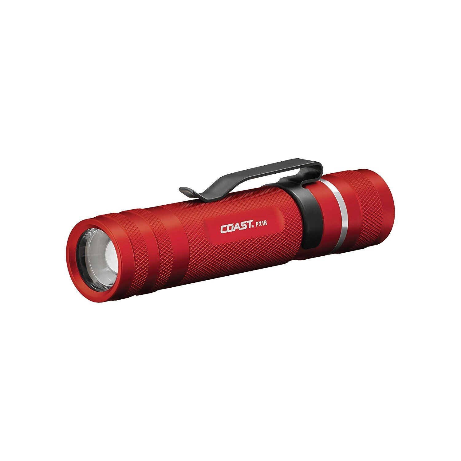 Coast PX1R Rechargeable Pure  Beam Focusing 460 Lumens Red Casing  is discounted
