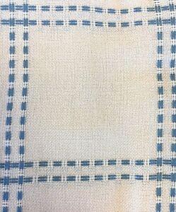 Beige//Beige Zweigart HEARTHSIDE AFGHAN  Cross stitch Fabric