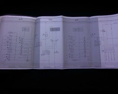 1982 toyota hiace service manual electrical wiring diagram  ebay