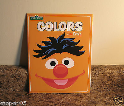 Sesame Street Colors Learning Workbook With Ernie NEW 718451293420 EBay