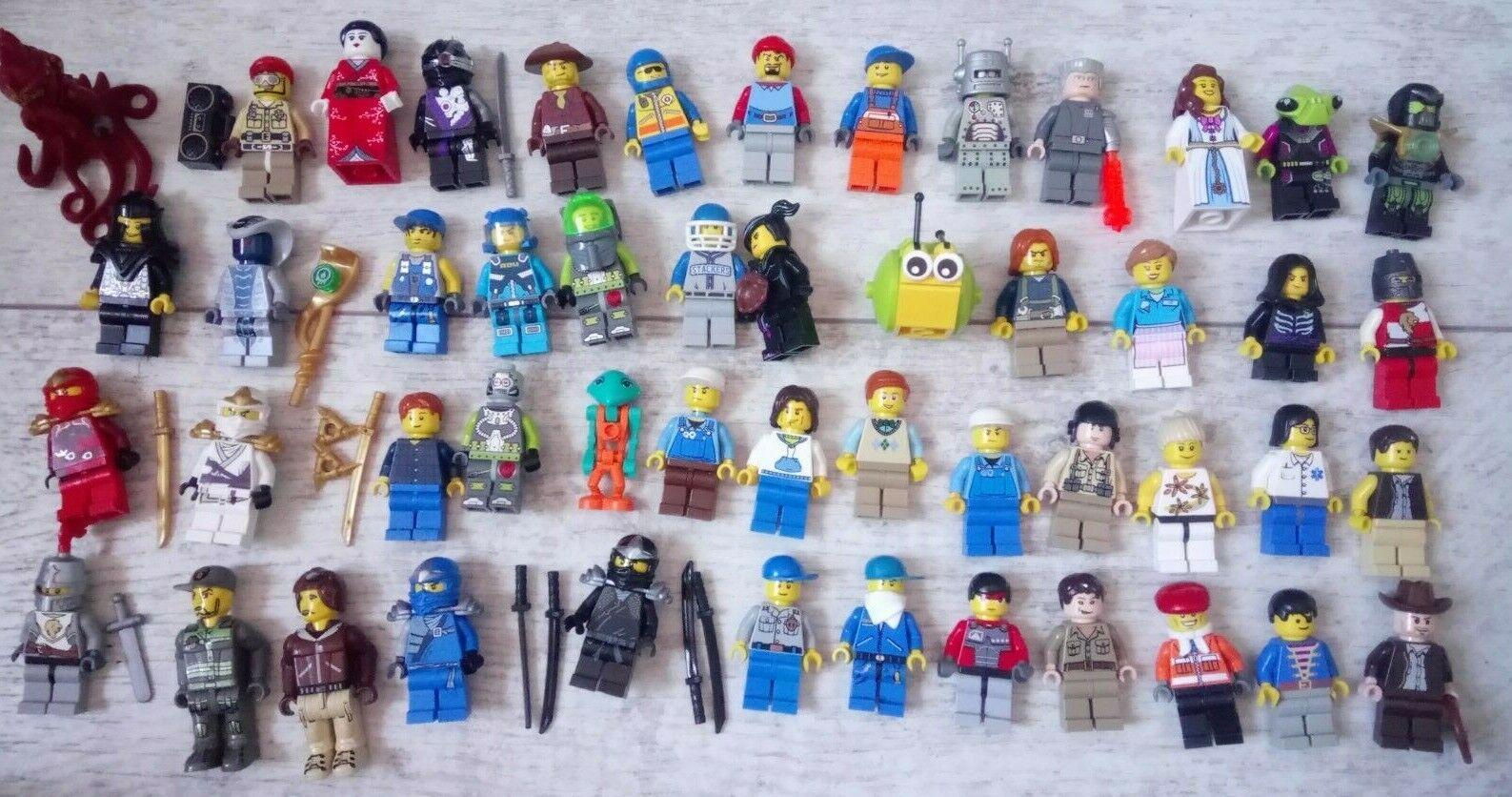 Bundle Lot of 50 Lego Mini Figures Minifigs - lot 3