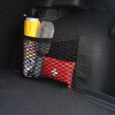 kilofly 3pc Elastic Car Rear Trunk Cargo Net Mesh Storage Pocket Organizers Set