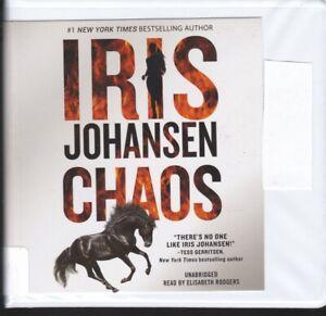 CHAOS by IRIS JOHANSEN ~ UNABRIDGED CD AUDIOBOOK