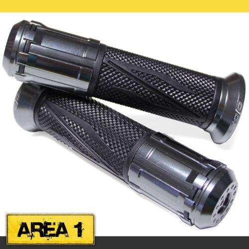 Universal Motorroller Lenkergriffe Griffgummis 22//24-25mm Gun//Grau