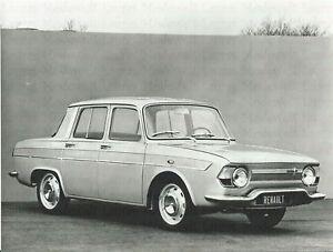 RENAULT-R-10-Major-1965-Werkfoto-Pressefoto-Foto-Photograph-Photo-Auto
