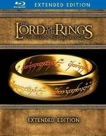 The Lord Of The Rings The Motion Picture Trilogy Blu Ray Disc 2012 15 Disc Set Extended Edition For Sale Online Ebay