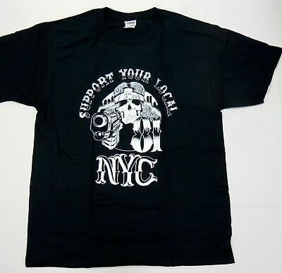Support 81 Hells Angels 3rd st Crew NYC New York T Shirt size 2XL NEW #sku  | eBay