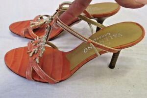 VALENTINO-Garavani-Coral-Snake-Embossed-Leather-Sandals-w-Enamel-amp-Crystal-36