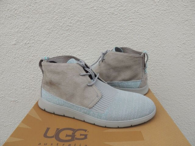 innovative design f5220 f2402 UGG SEAL GREY FREAMON HYPERWEAVE 2.0 SNEAKER ANKLE BOOTS, US 8  EUR 40.5 ~