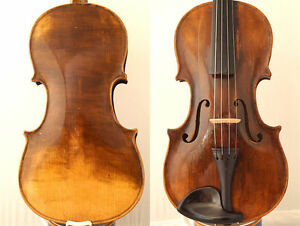 FINE 4/4 OLD MASTER Label: St.SERAPHIN 1772 VIOLIN OLD WOOD 小提琴 СКРИПКА GEIGE