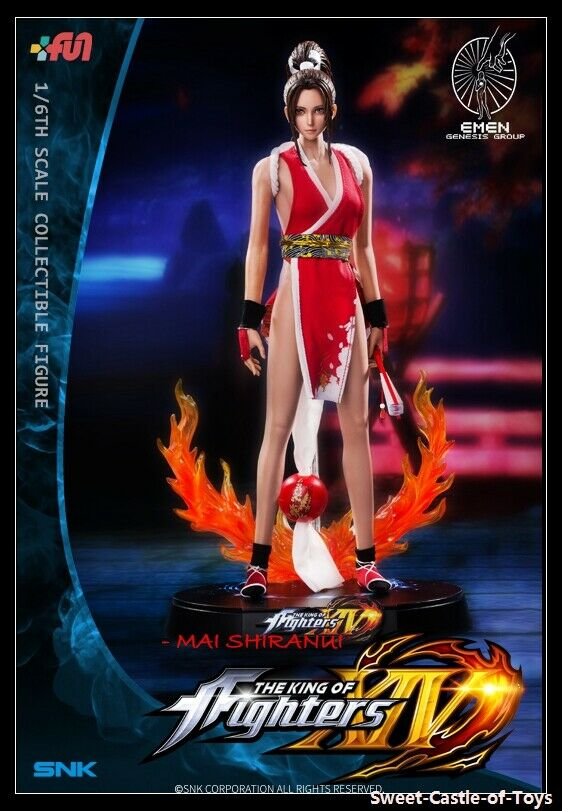 1 6 Emen Genesis grupo The King of Fighters XIV Mai Shiranui Figura De Colección