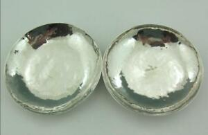 ARTS-amp-CRAFTS-PLANISHED-SMALL-SILVER-DISHES-JAPANESE-TURKISH