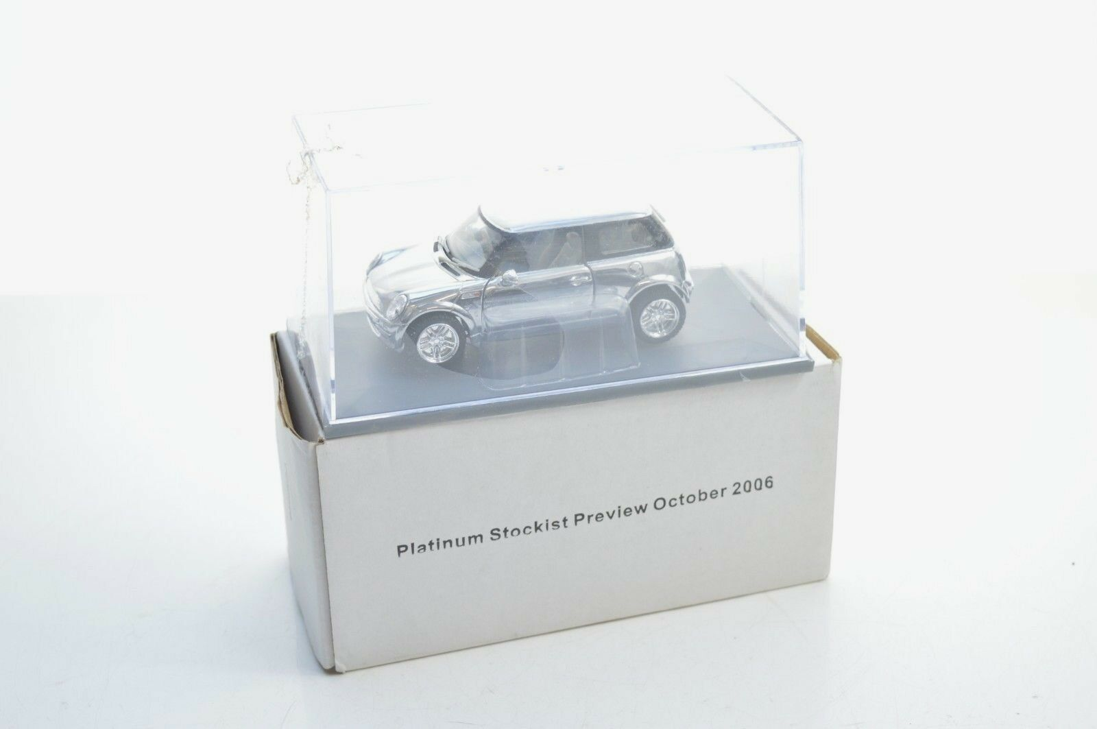CORGI CC 862529 CHROME PLATED BMW MINI
