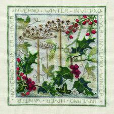 Derwentwater Designs Four Seasons Cross Stitch Kit - Winter