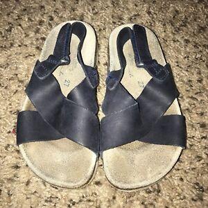 Boy's Genuine Toddler 10 27 Blue Details Navy Zara Suede Sandals About Size Trendy Stylish OZuwiPkTX