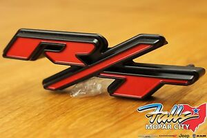 BWONE R//T RT Front Grille emblem apply to for Dodge Jeep Charger Ram Challenger Grand Cherokee