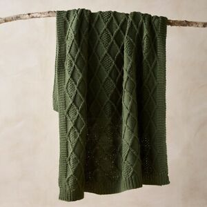Bianca Parker Olive Throw