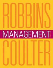Management by Mary A. Coulter and Stephen P. Robbins (2013, Hardcover)