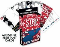 Intimate Strip Poker Card Game Art Illustrated Poker Size Playing Cards, Sealed