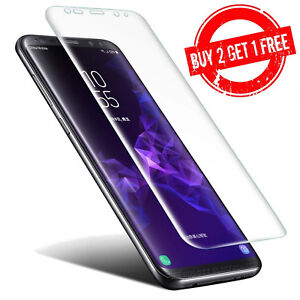 Samsung Galaxy S9 Full Coverage Clear 3D Film Screen Protector