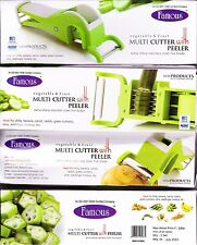 Famous Multi Cutter With Peeler Vegetable & Fruit Extra Sharp Stainless Cleaver