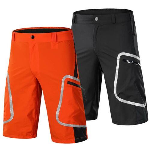 Herren Fahrradhose Kurz Atmungsaktive MTB BMX Hosen Gym Sport Radhose Radlerhose