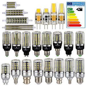 E27-E14-G4-R7S-5W-9W-12W-15W-20W-5736-SMD-LED-Mais-Lampada-Lampadina-Spot-Luce