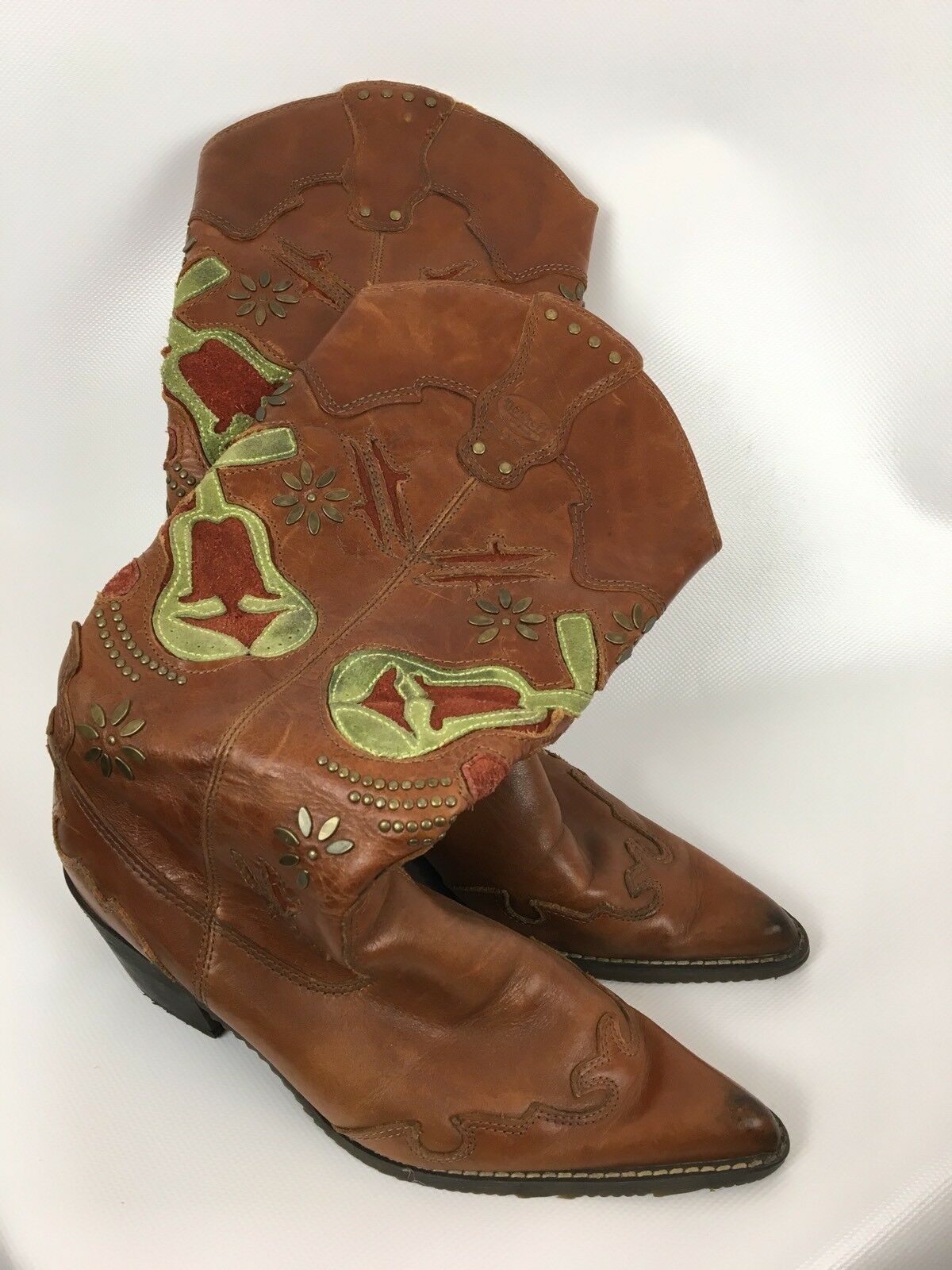 DOCKERS Stiefel, Cowboystiefel, brown, Größe 37