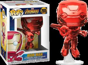 Avengers-3-Infinity-War-Iron-Man-Flying-Chrome-Red-Funko-Pop-Vinyl