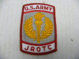 U. S. Army JROTC Embroidered Patch