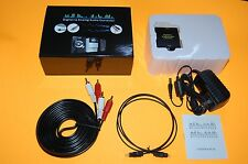 Toslink Optical Digital to Analog Audio Converter. Surround Sound Flat Screen TV