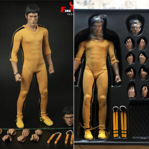 In Stock FIRE A021 1//4 Bruce Lee/'s Game of Death Two-Head Collect Action Figure