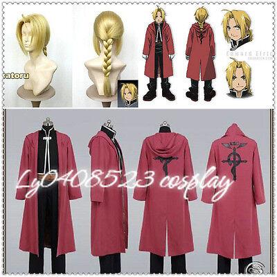 Fullmetal Alchemist Edward Elric's cosplay costume Any Size