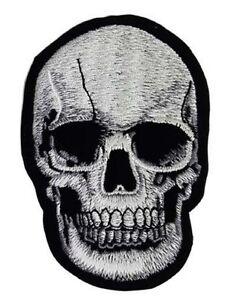 Totenkopf  Aufnäher Aufbügler Skull Patch 10cm x 10cm
