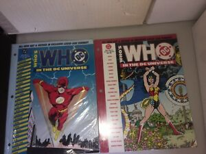 Who-039-s-Who-in-the-DC-Universe-2-4-August-1990-NM-binder-edition-George-Perez