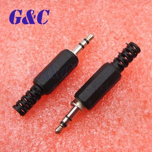10PCS Audio Jack Plug Headphone male Connector 3.5mm jack plug stereo plug