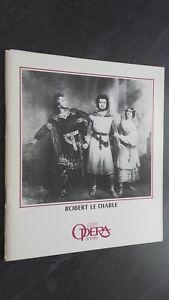 Revista Theatre National Opera París Julio 1985 Buen Estado