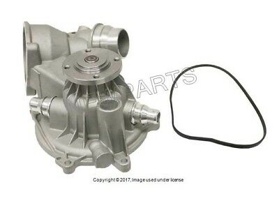 For BMW E65 E66 02-08 Water Pump w// Gasket /& Heater Return Pipe O-Ring GENUINE