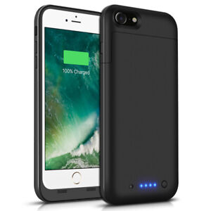 buy popular 3e8ee 5bd97 Details about 6800mAh Battery Charging Power Bank Charger Case For Apple  iPhone 6S Plus 5.5