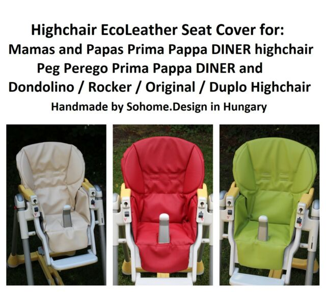 Awe Inspiring Upholstery Seat Cover For Peg Perego Prima Pappa Diner Original Rocker Extra Machost Co Dining Chair Design Ideas Machostcouk